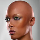 tyra banks bald head