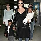 brad angelina airport93