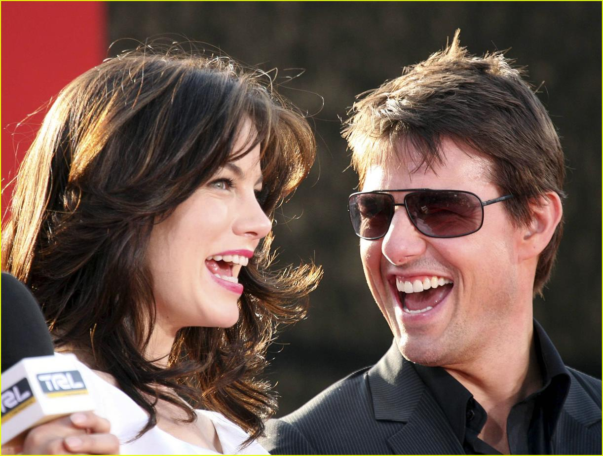 Michelle Monaghan and tom cruise