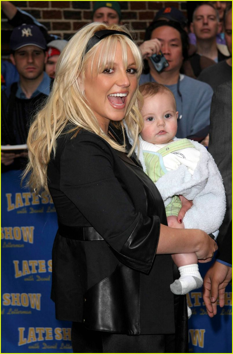 britney spears david letterman show01