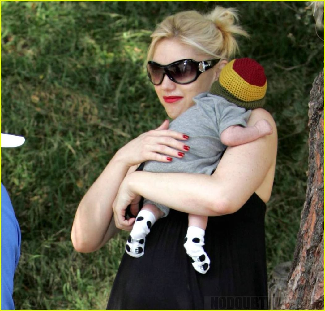 Full Sized Photo of kingston rossdale photos03 | Photo ... Gwen Stefani