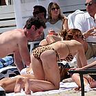 lindsay lohan bikini50