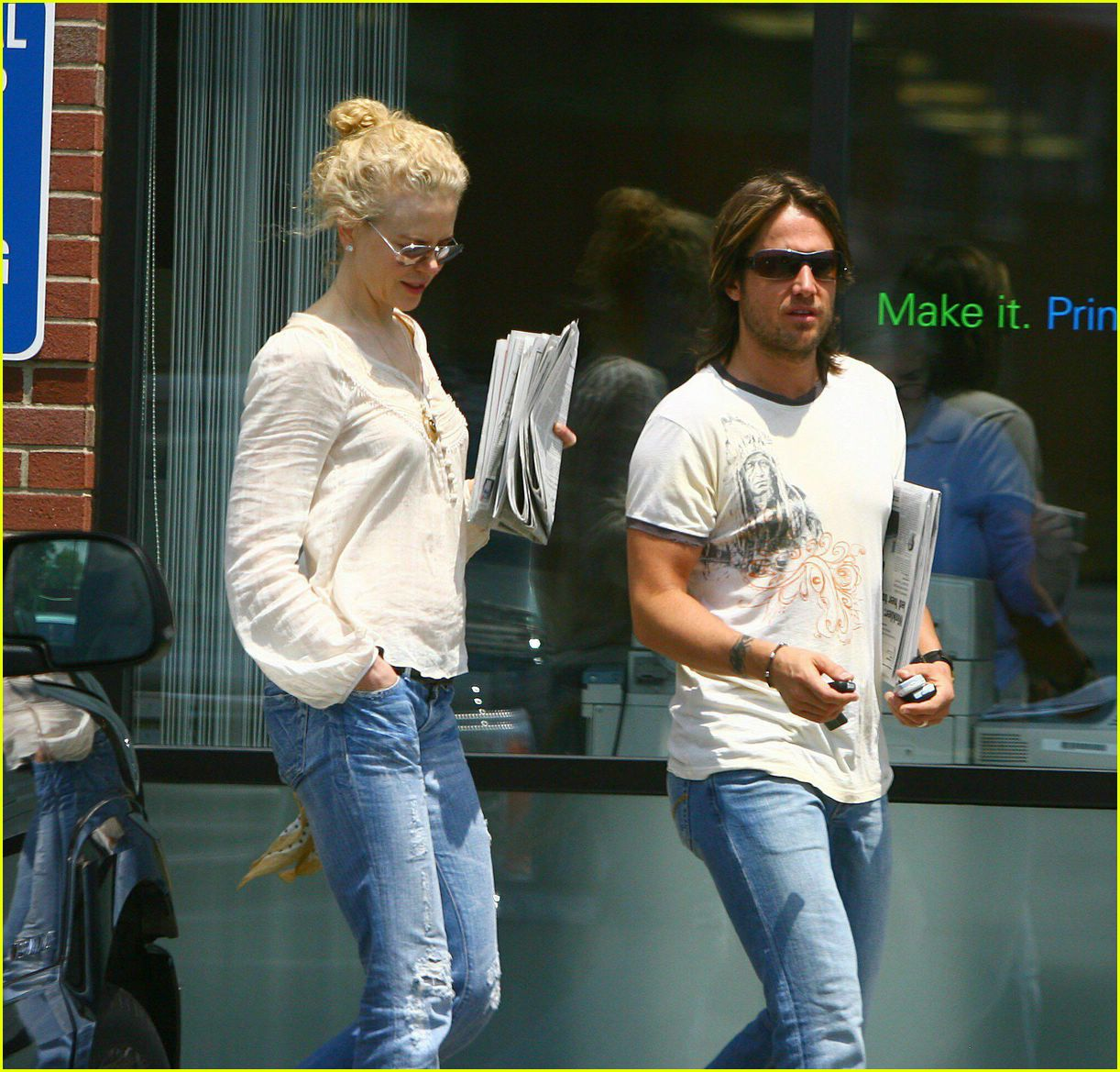 Nicole Kidman & Keith Urban Back In Nashville: Photo