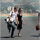 brad angelina burbank airport 09