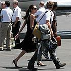 brad angelina burbank airport 20