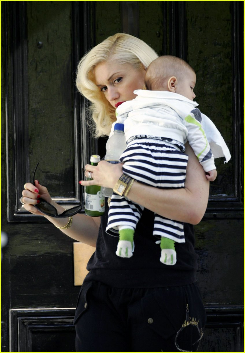 baby kingston rossdale 01