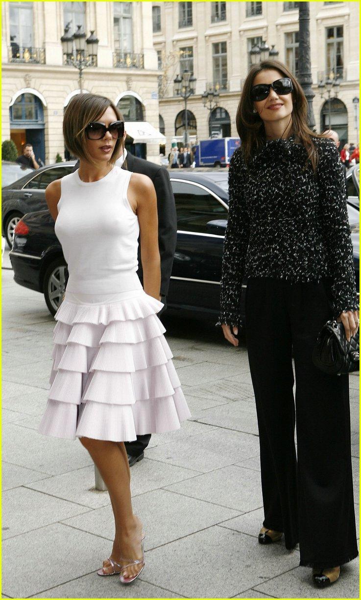 Katie Holmes & Victoria Beckham are Gal Pals: Photo 20151 ...