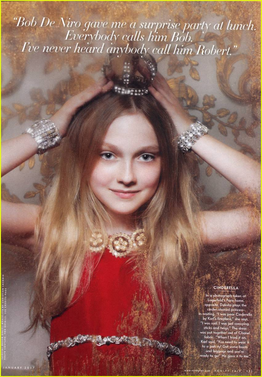 dakota fanning vanity fair 03