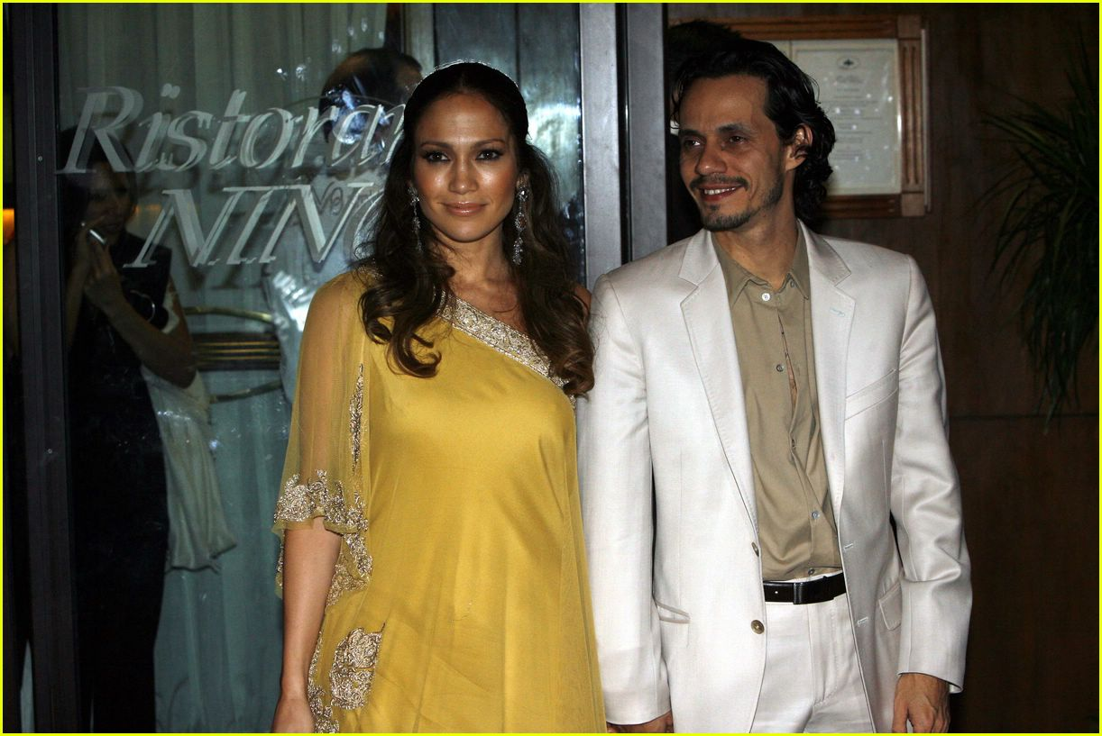 Full Sized Photo Of Jennifer Lopez Marc Anthony Holmes Wedding 04