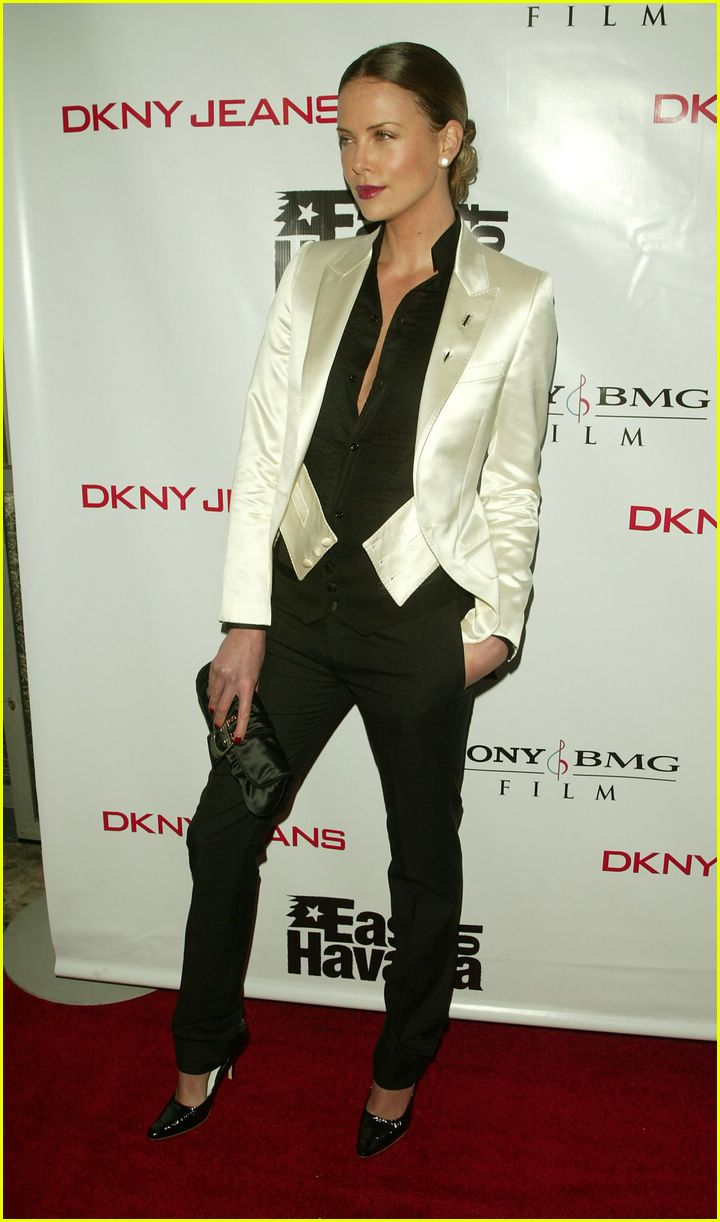 charlize theron suit 072419667