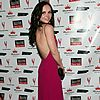 christina ricci magenta dress 02