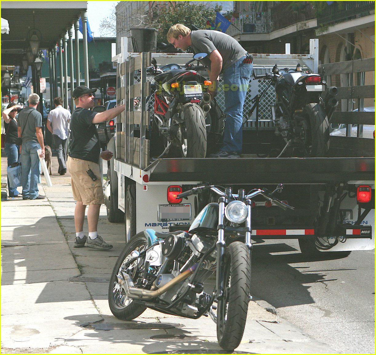 brad pitt motorcycles 012415982