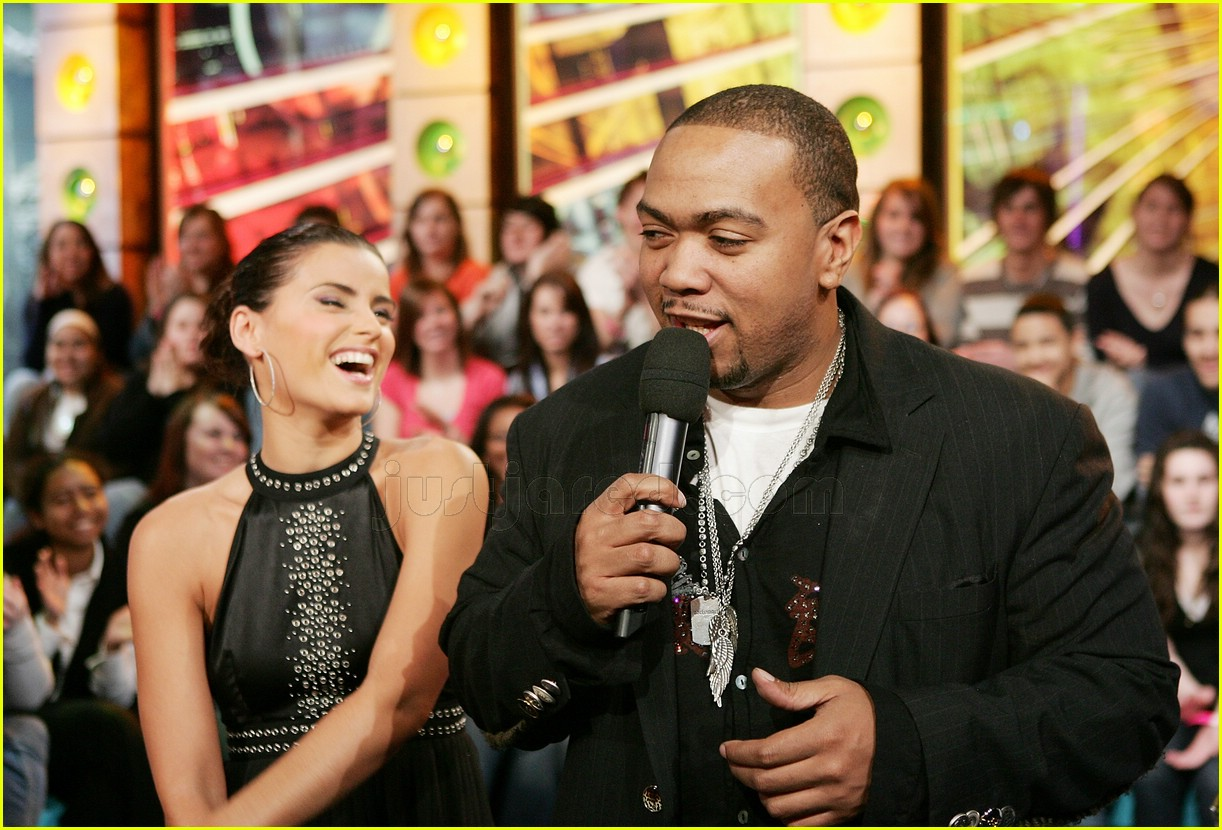 most popular save off popular stores Nelly Furtado & Timbaland Rock TRL: Photo 2414869 | Nelly ...