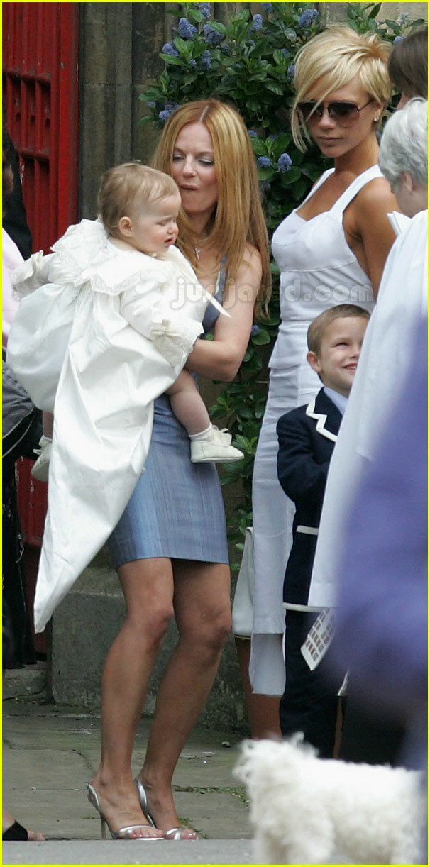 victoria beckham geri halliwell bluebell christening 03