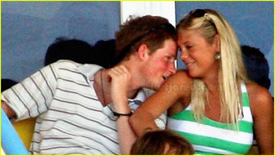Prince Harry's Public Royal Kiss
