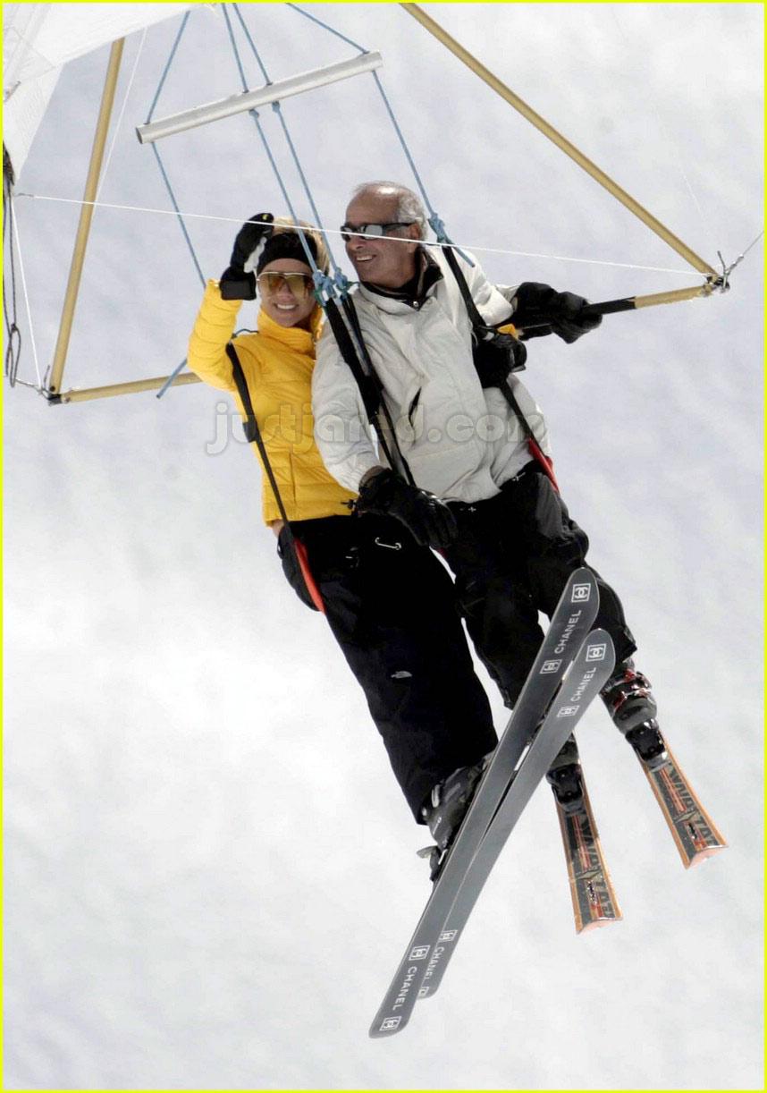 posh spice skiing 2190031