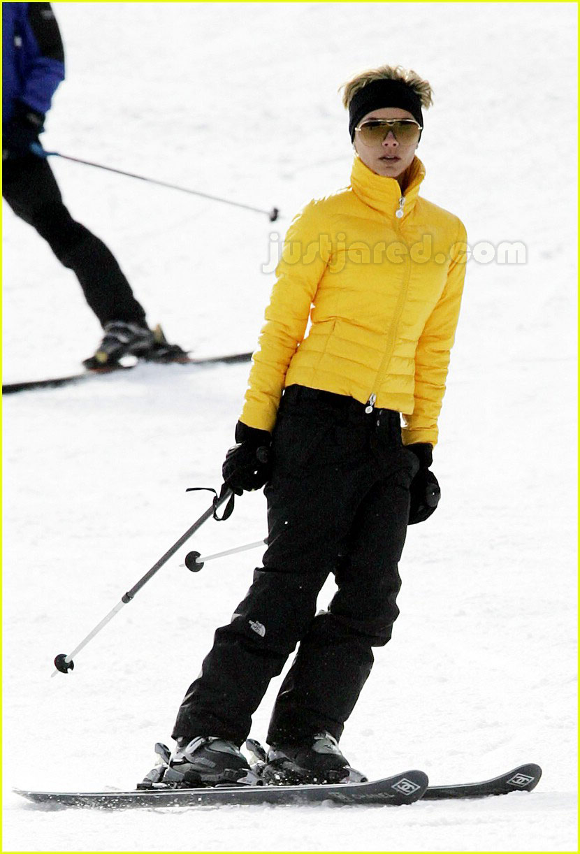 posh spice skiing 23