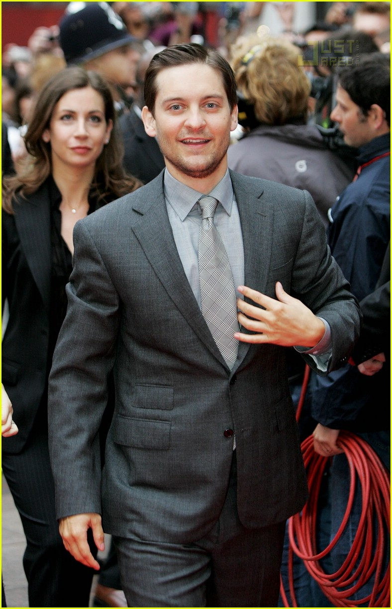 tobey maguire spider man 3 uk premiere 01