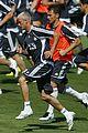 david beckham soccer training 05