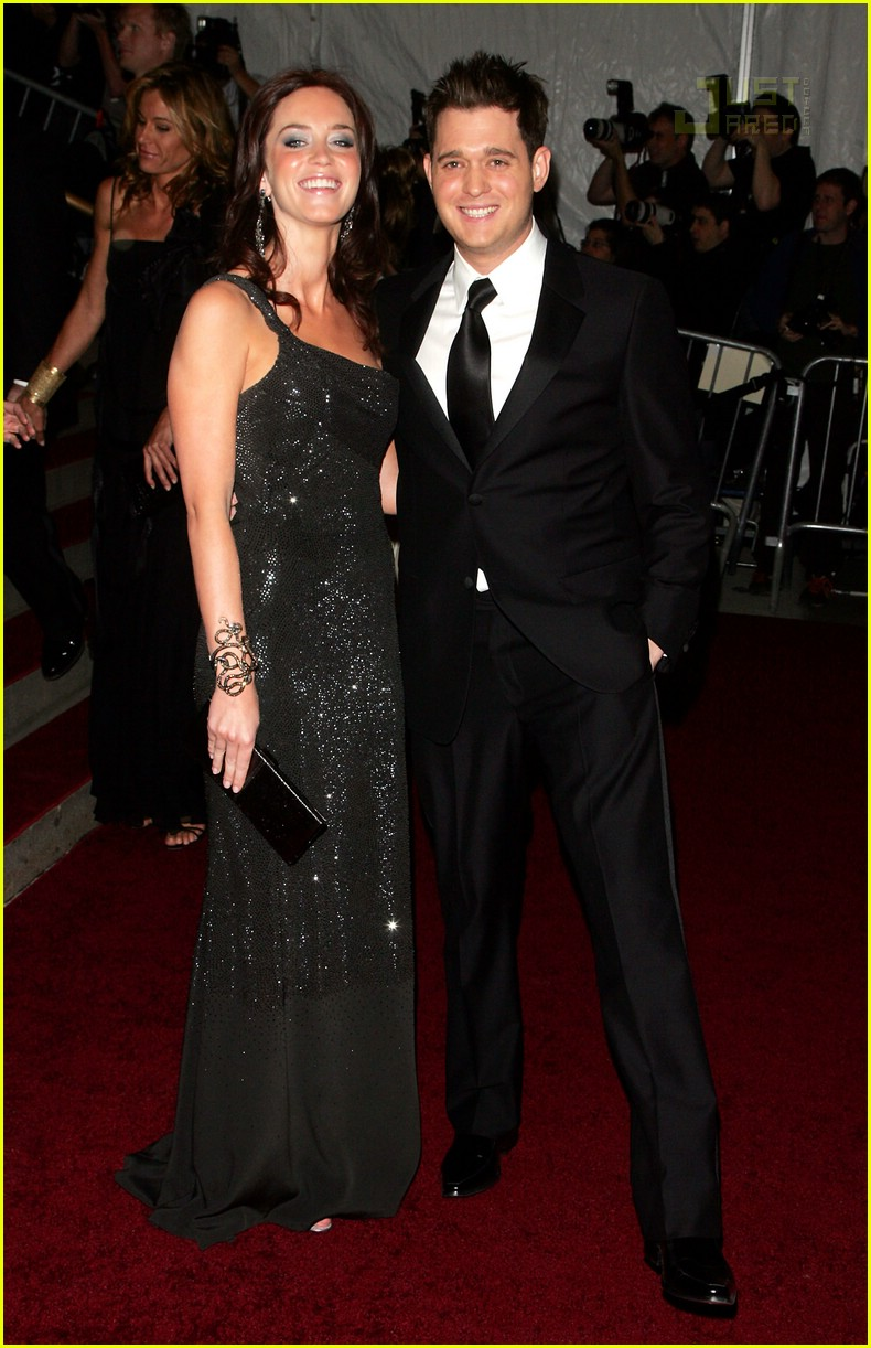 Michael Buble Emily Blunt Emily Blunt  Michael Buble