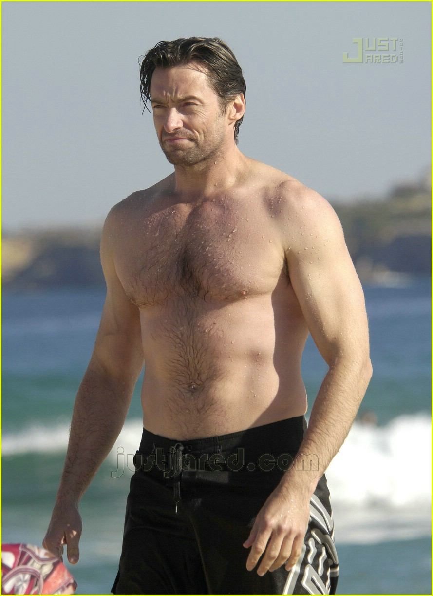 Hugh Jackman: Shirtles...