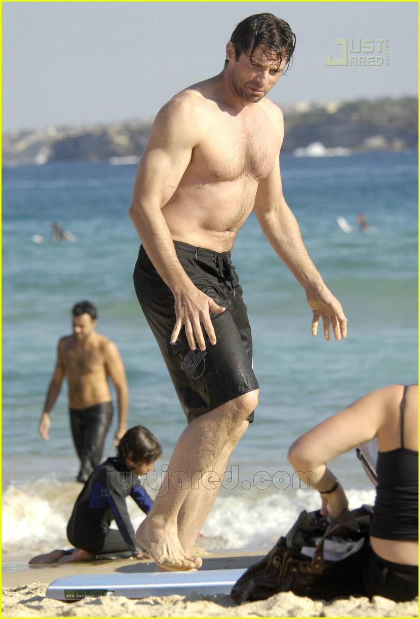 hugh jackman shirtless 10160261