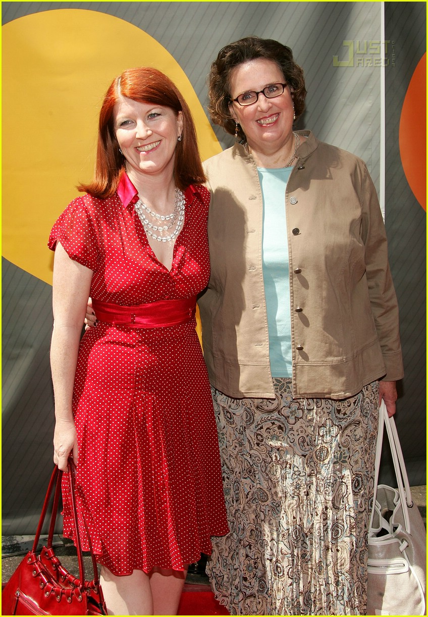 kate flannery nbc upfronts 2007 02163251