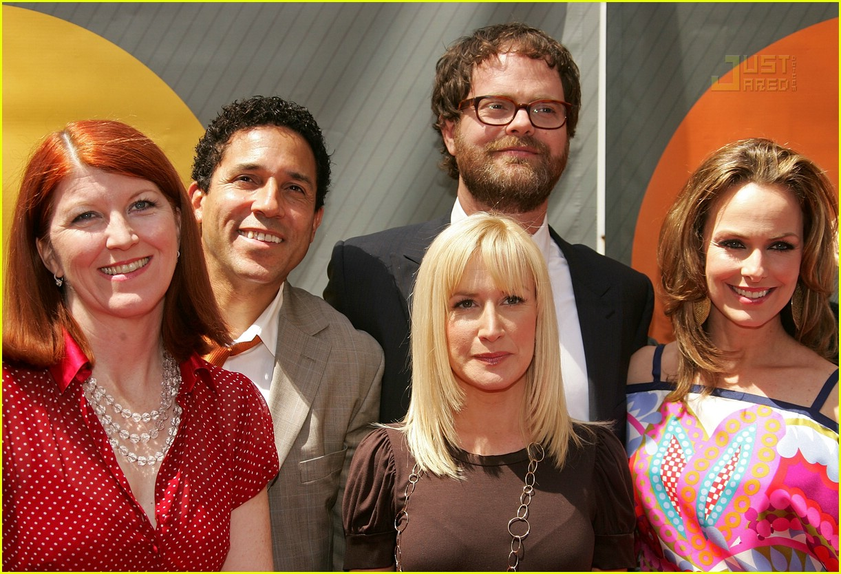 the office cast nbc upfronts 2007 03163391