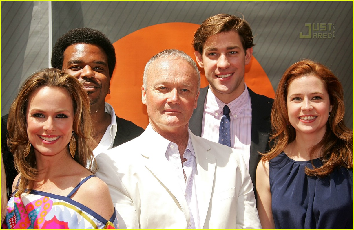 the office cast nbc upfronts 2007 04163401