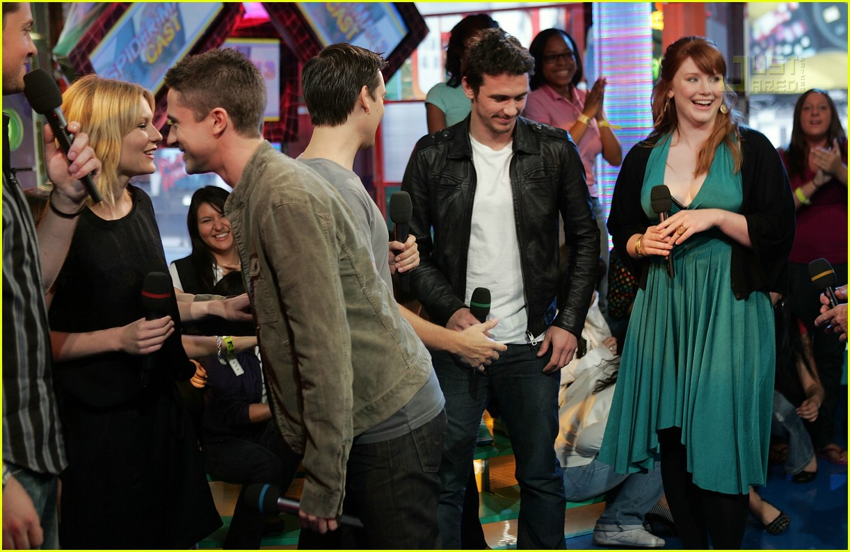 Spider-Man 3 Cast @ TRL: Photo 139131 | Bryce Dallas ...