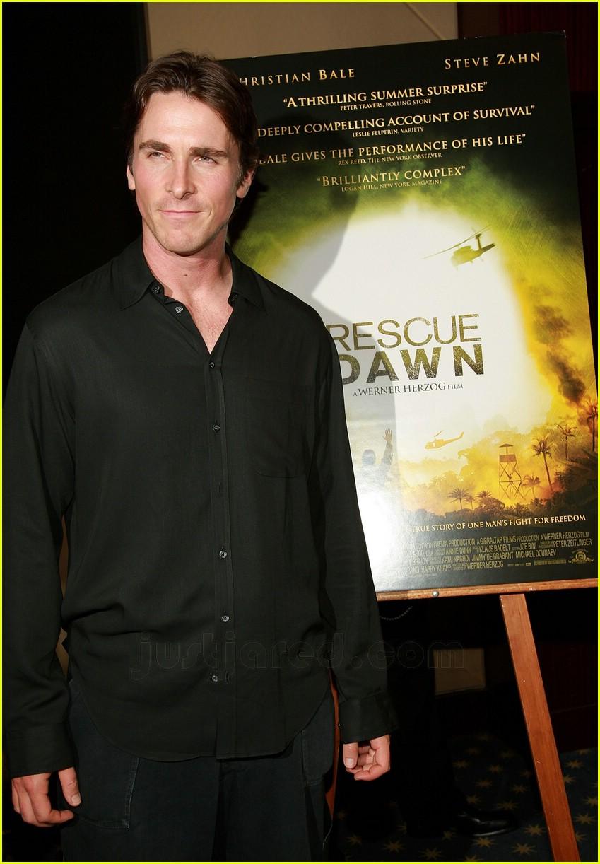 christian bale rescue dawn premiere 04461271