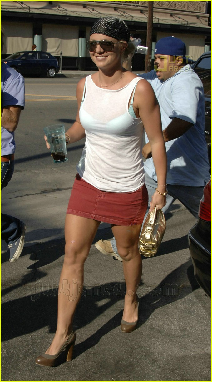 Britney new photo spear upskirt