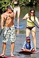 10 jennifer garner paddle boarding