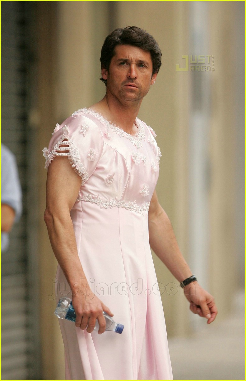 Patrick Dempsey Is A Cross Dresser Photo 432381 Patrick Dempsey