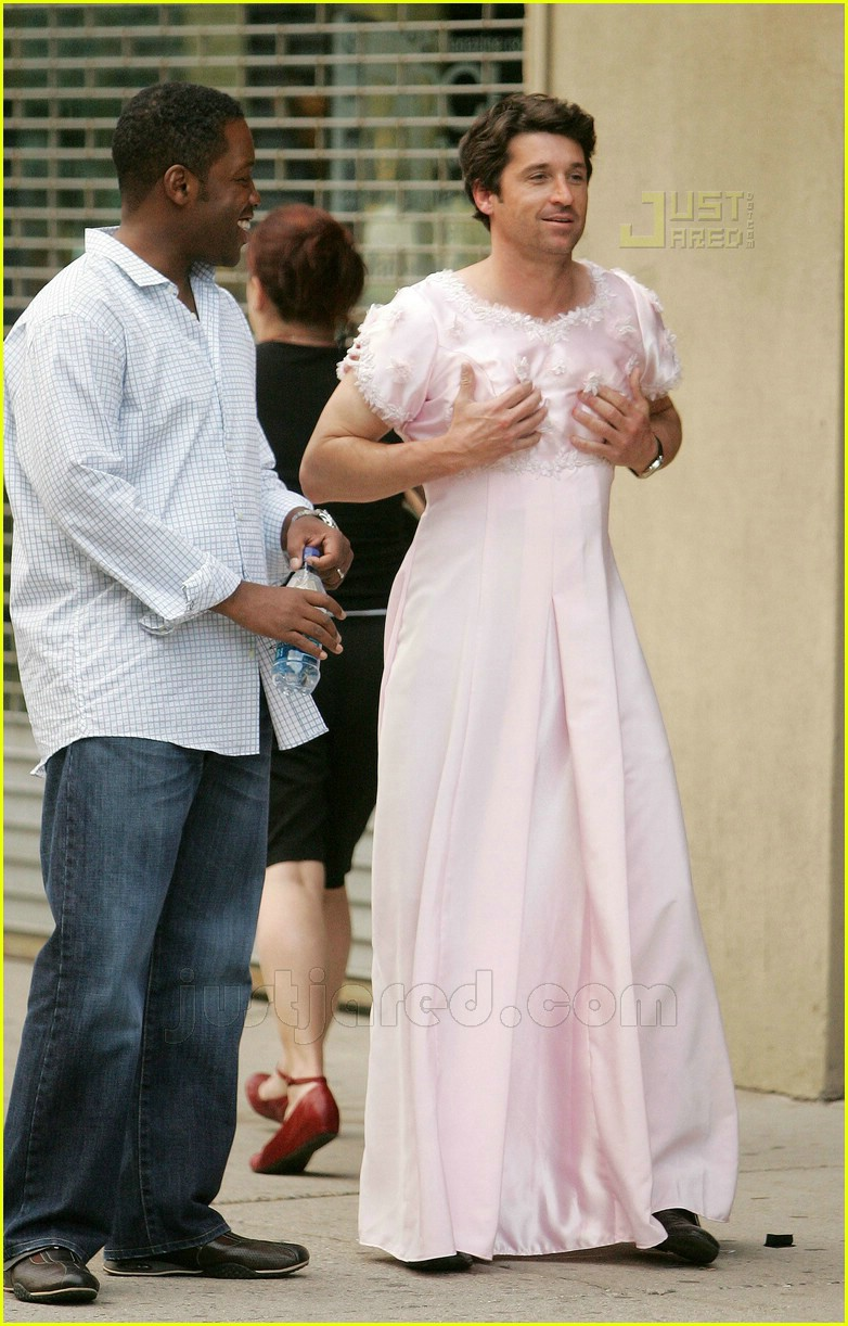 Patrick Dempsey Is A Cross Dresser Photo 432451 Patrick Dempsey