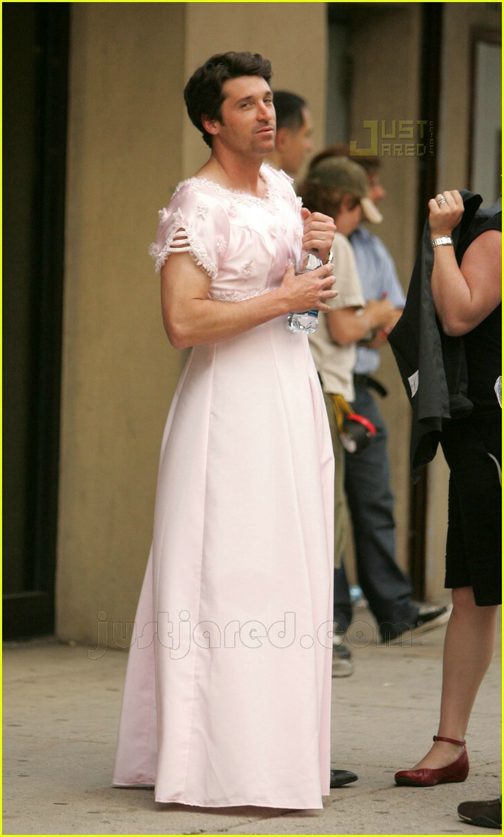 patrick dempsey wedding dress 10432471