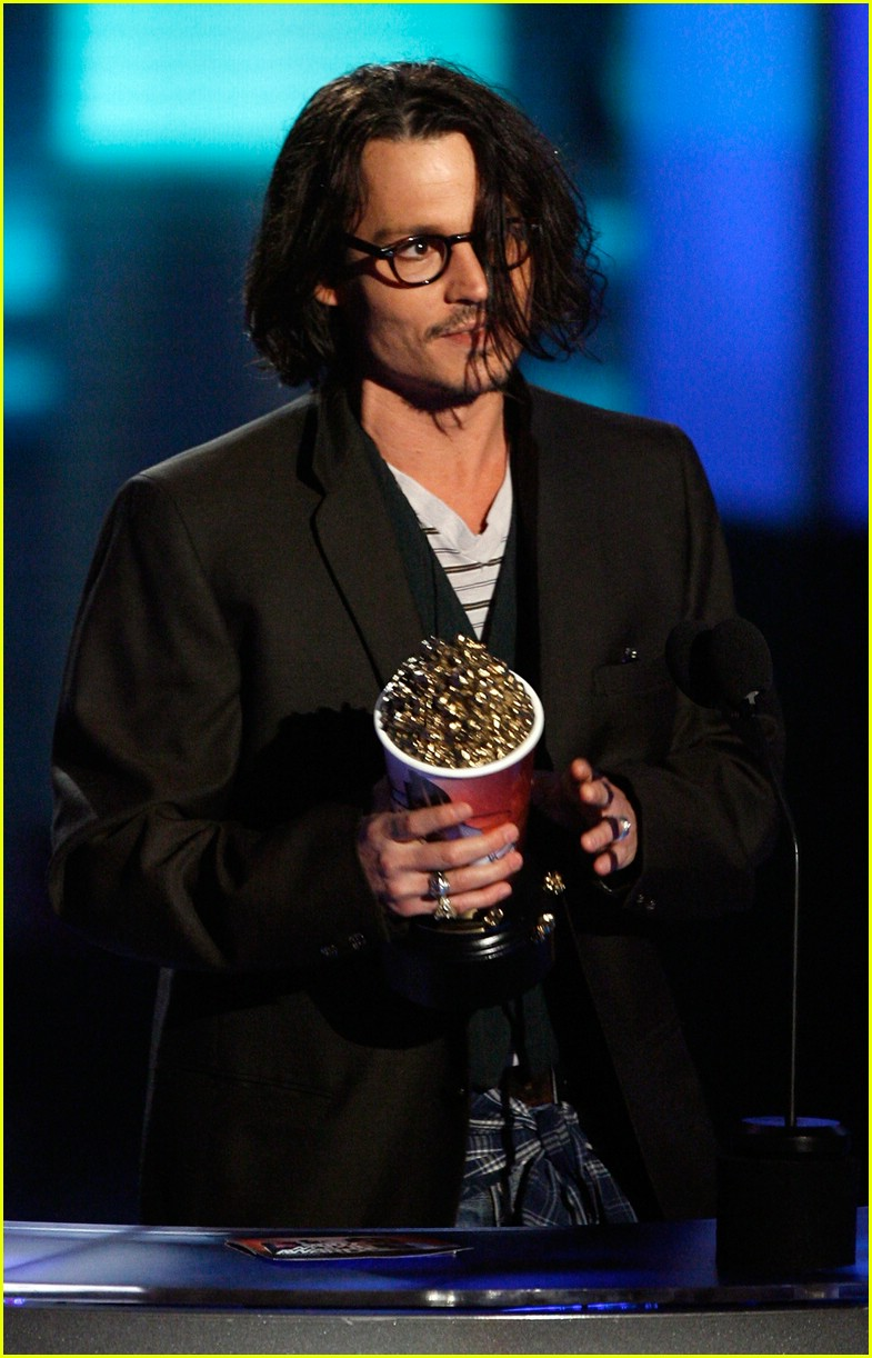 johnny depp mtv movie awards 2007 53
