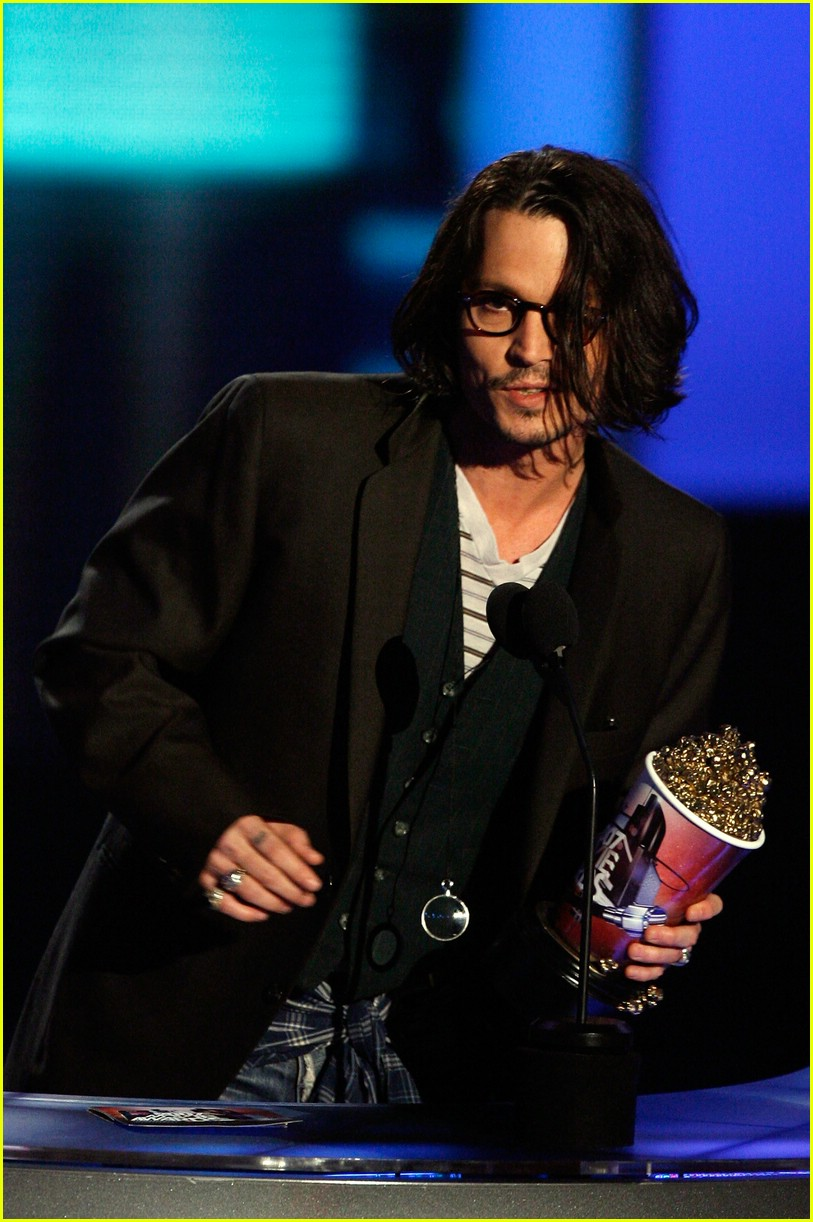 johnny depp mtv movie awards 2007 54