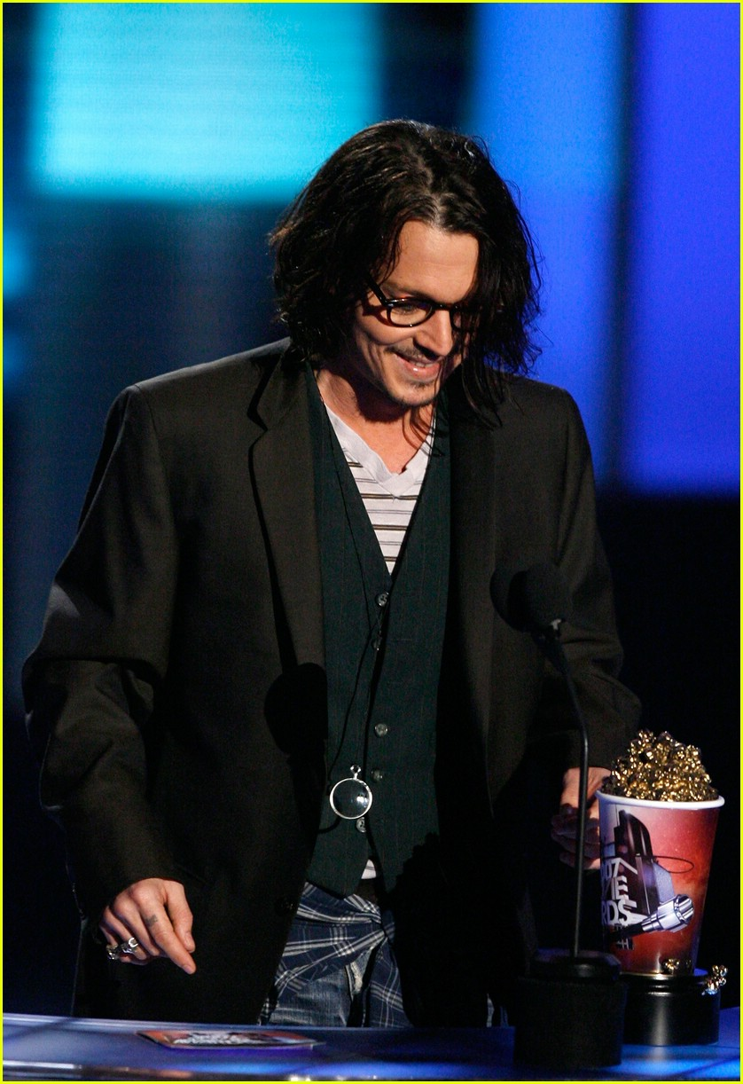 johnny depp mtv movie awards 2007 56