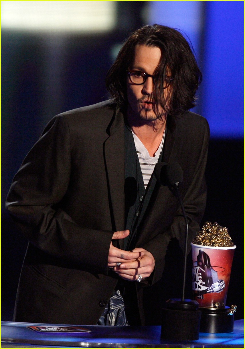 johnny depp mtv movie awards 2007 61