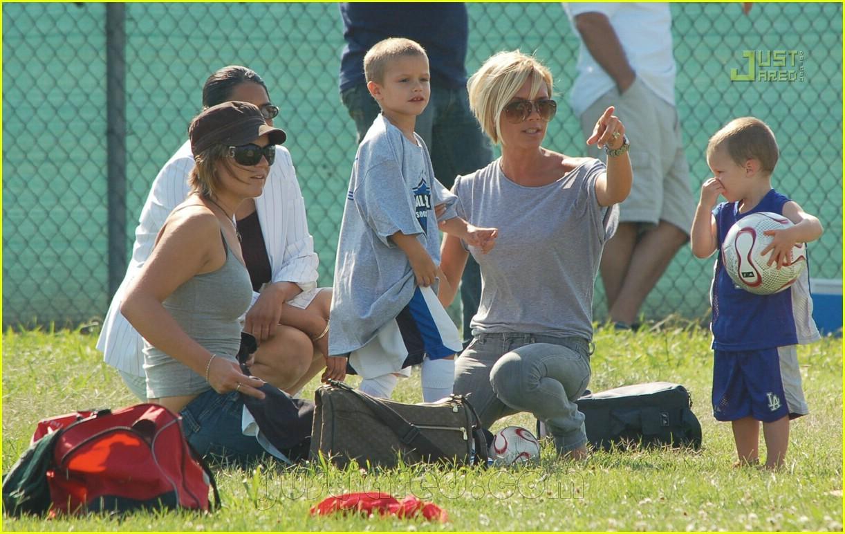 beckham boys soccer practice 07