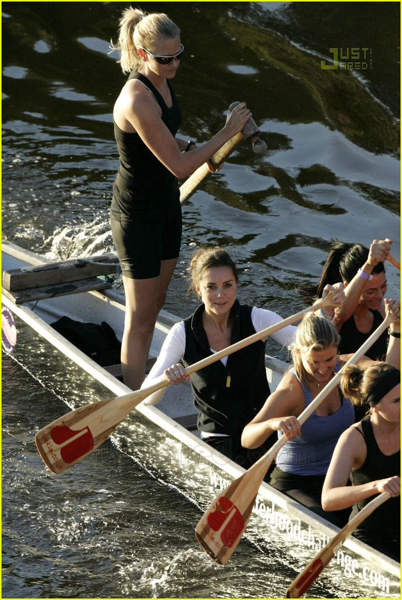 Kate Middleton Row Row Row Your Boat Photo 513801 Kate Middleton Pictures Just Jared