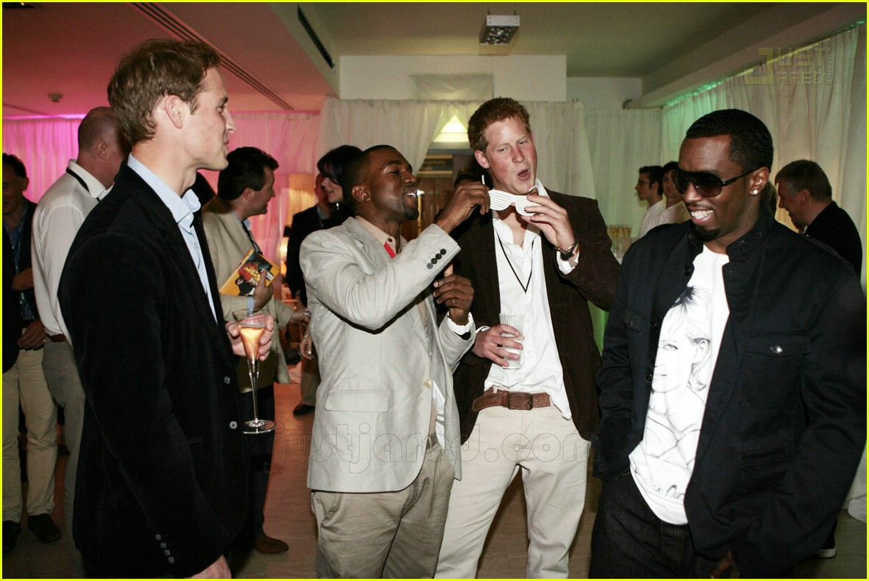 01 prince harry kanye west p diddy