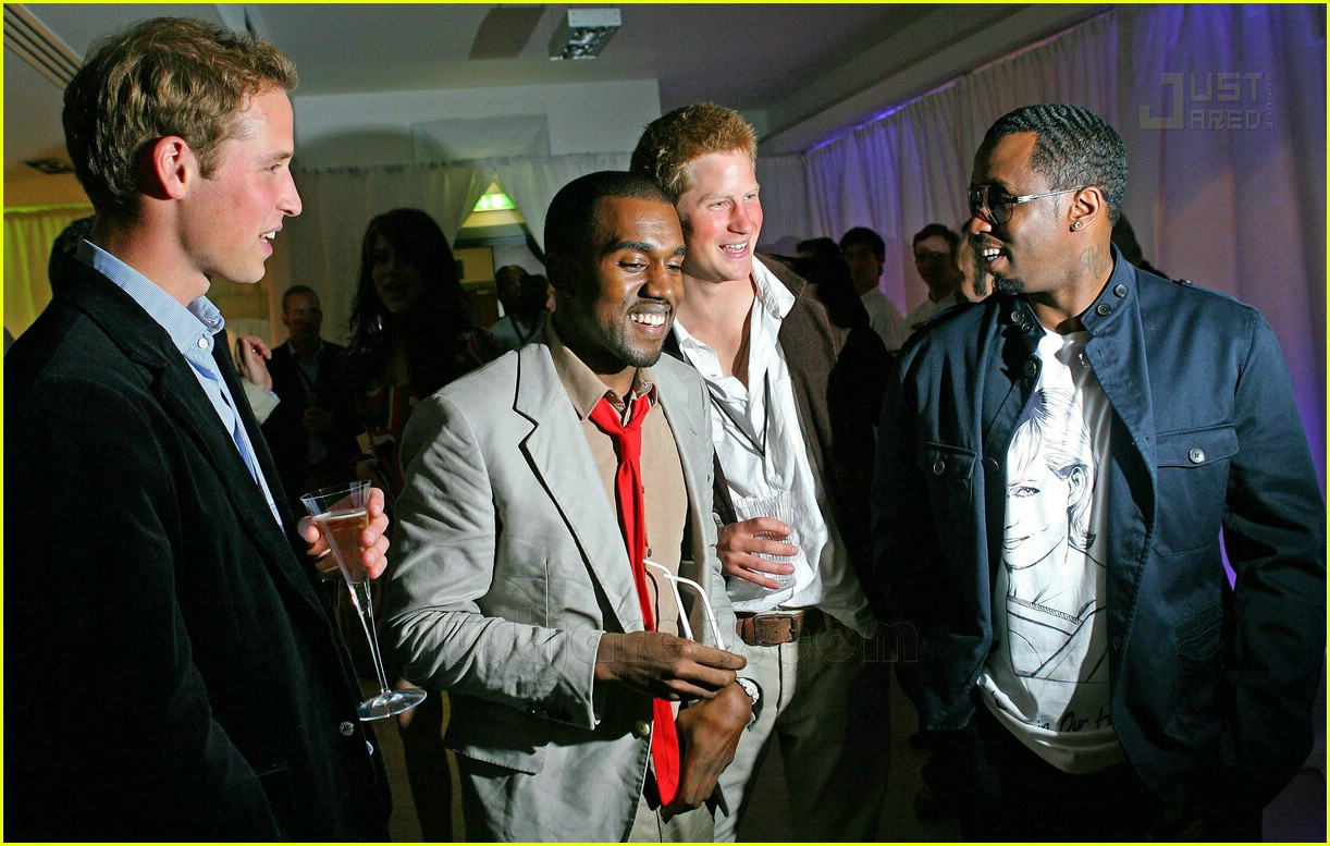 prince harry kanye west p diddy 02470311