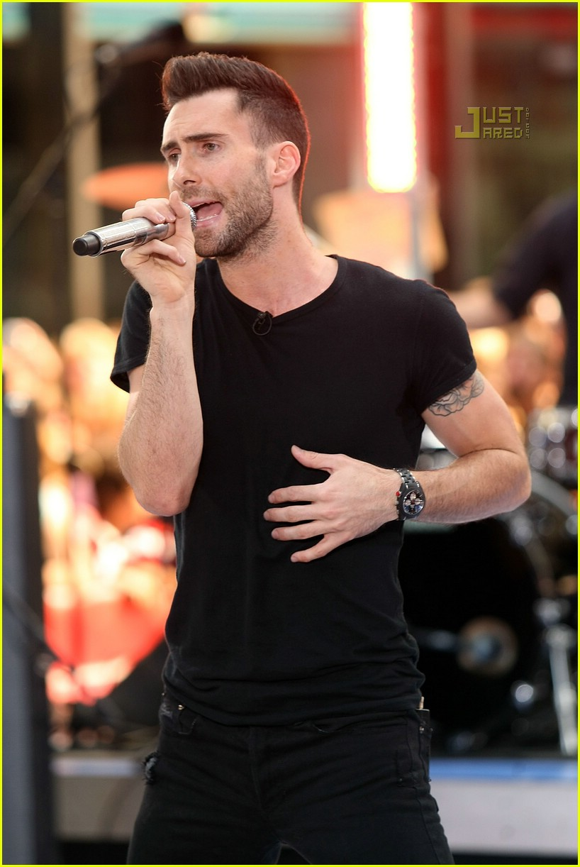 adam levine the today show 05535071