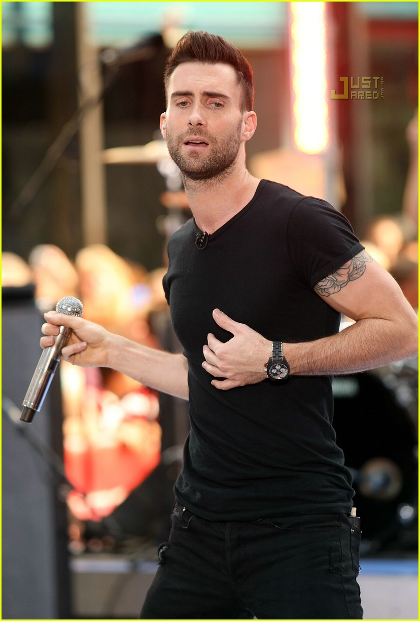 adam levine the today show 06