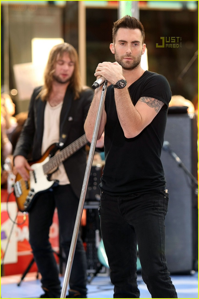 adam levine the today show 16