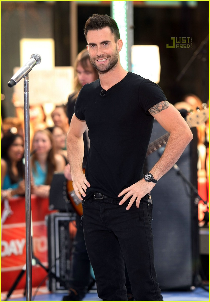 adam levine the today show 17