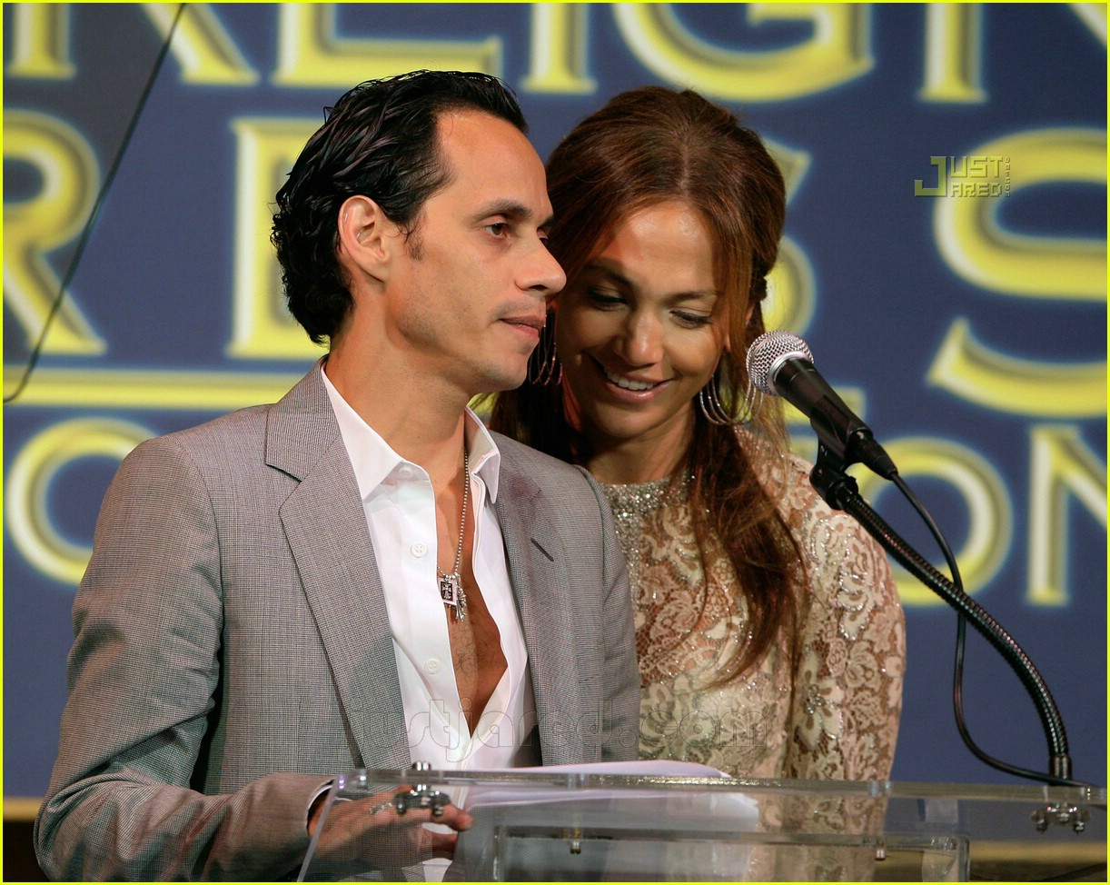 jennifer lopez marc anthony hfpa 14