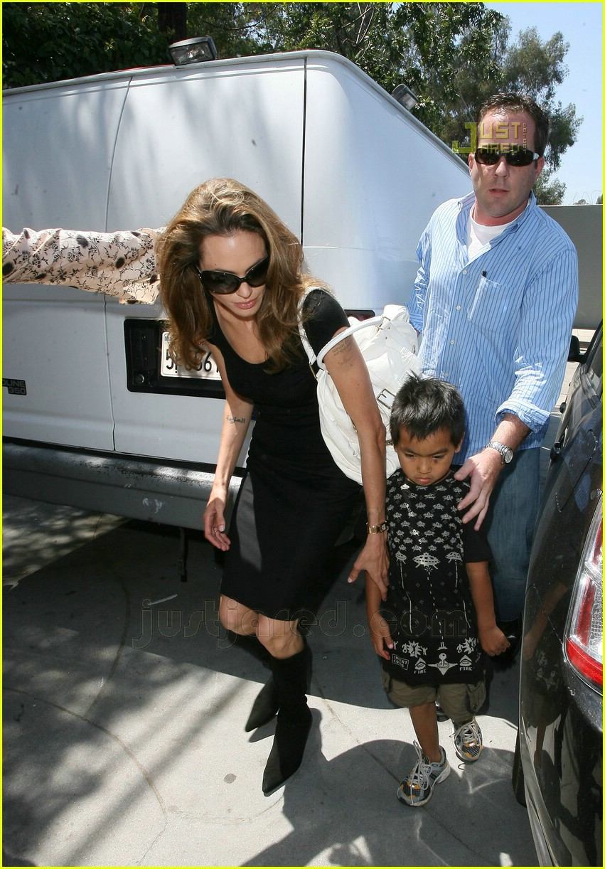 Maddox jolie pitt celebrity babies pictures